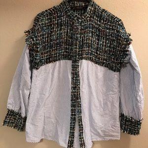 Zara Funky Work Shirt